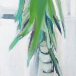Benti növény – olaj, vászon, 110 x 145 cm, 2015