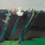 Cím nélkül – olaj, vászon, 100 x 120 cm, 2014
