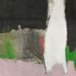 Nyírfa – olaj, vászon, 50 x 70 cm, 2014