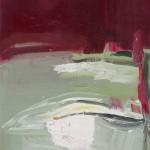 Cím nélkül – olaj, vászon, 38 x 52 cm, 2014
