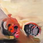 Paddle – olaj, vászon, 72 x 98, 2013