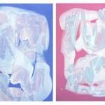 PRINTS - SERIES (70X100cm, acrylic on canvas, 2015)
