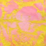 Pink on yellow