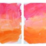 THREE COLOURS (50X70cm, acrylic on canvas, 2015)