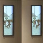 Window to Prague (video installation), 2013